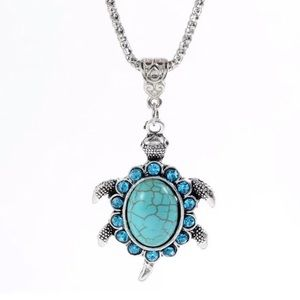 Jewelry - Turquoise Turtle Necklace
